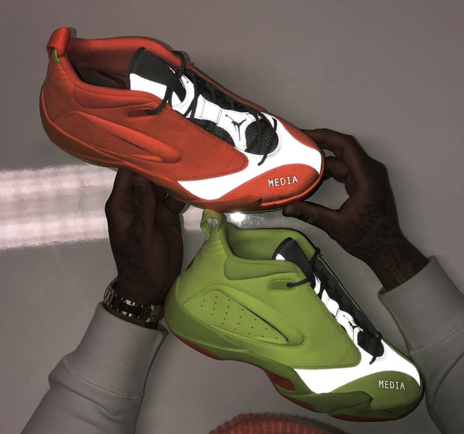 Jordan Jumpman Quick 6 'Neon' Sample 2