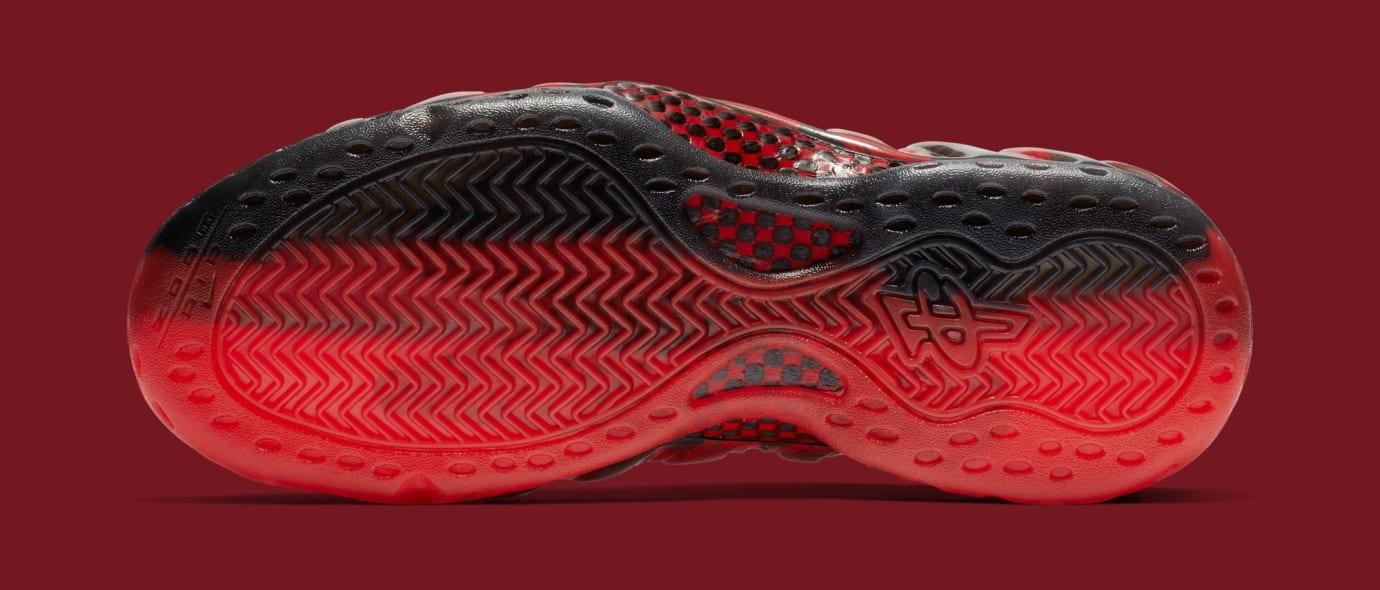 d7b350772dc Image via Nike Nike Air Foamposite One  Doernbecher  Challenge Red Black  641745-600 (Bottom