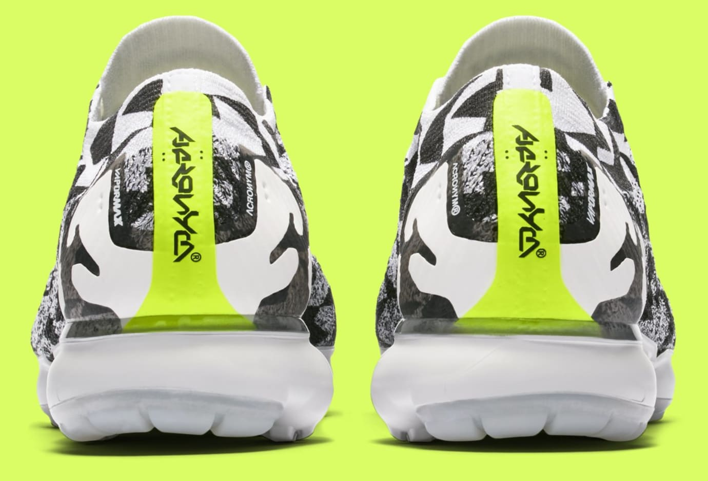 Acronym x Nike Air VaporMax Moc 2 AQ0996-001 (Heel)