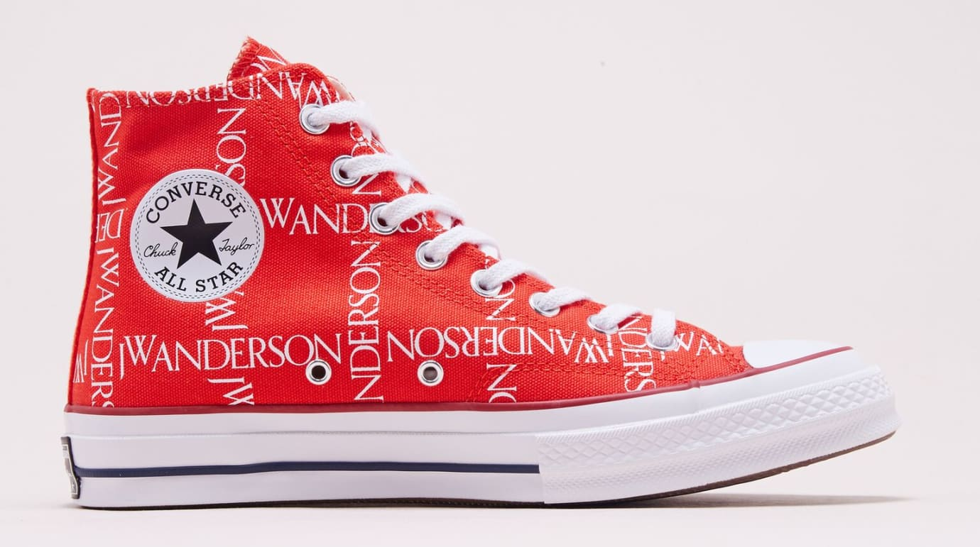 JW Anderson x Converse Chuck Taylor All Star Red