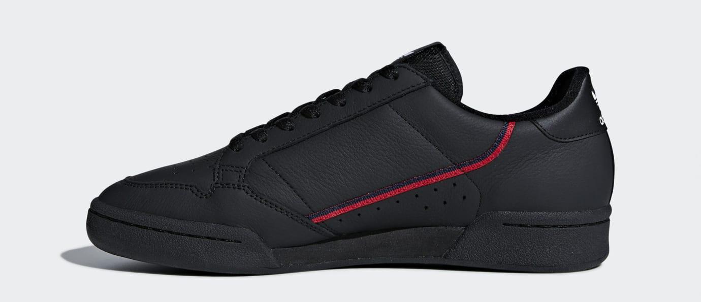 Adidas Continental 80 Rascal 'Black' B41672 (Medial)