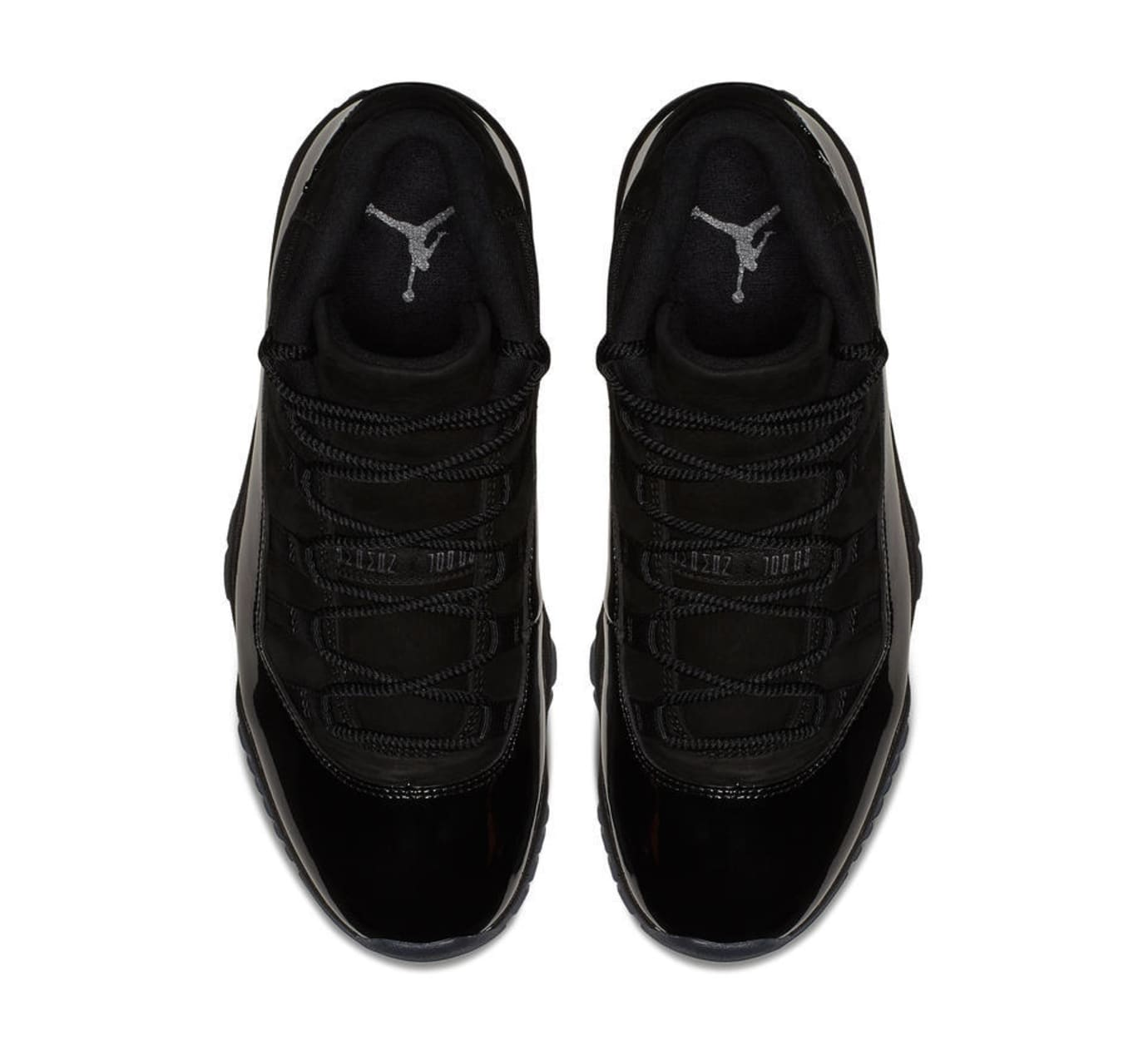 8afc59f33cd126 Image via Nike Air Jordan 11  Cap and Gown  378037-005 (Top)