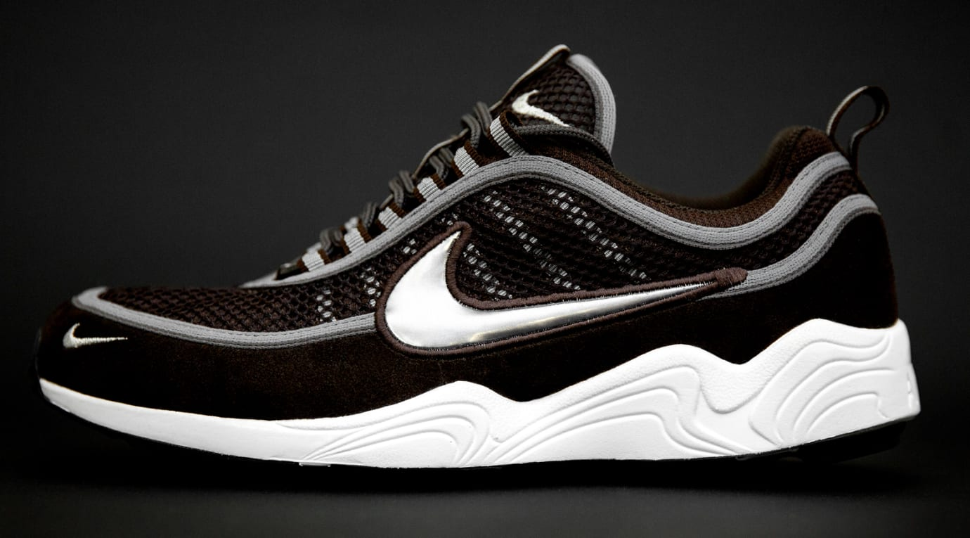 size? exclusive Nike Zoom Spiridon 'Brown' (Lateral)