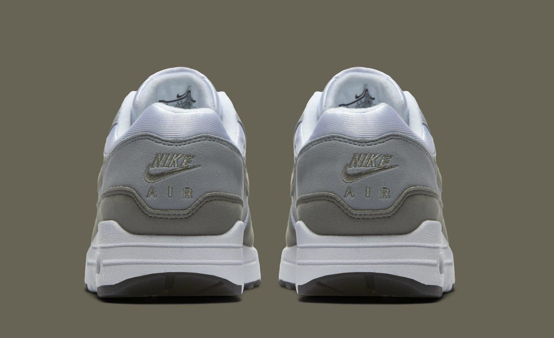 Nike Air Max 1 White/Light Pumice/Black/Dark Stucco 319986-105 (Heel)