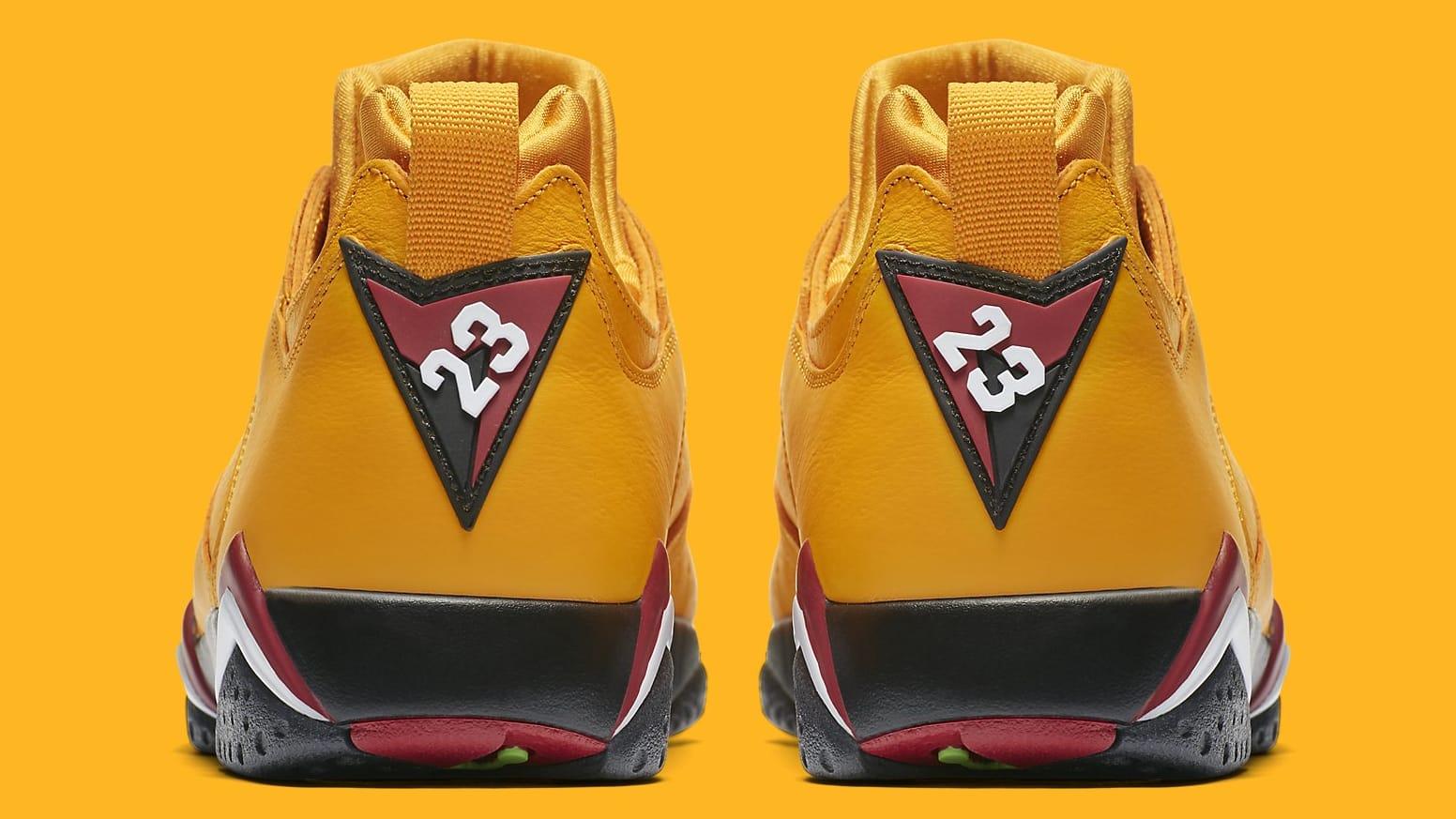 Air Jordan 7 VII Low Taxi Release date AR4422-701 Heel