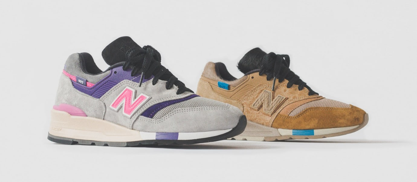 56fcb9d9e63cc Kith x United Arrows x Nonnative x New Balance 997 997S 997S Fusion ...