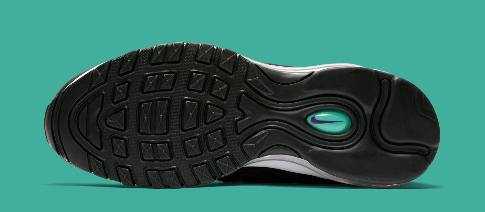 Nike Air Max 97 WMNS 'Black/Bright Grape/Clear Emerald' 921733-008 (Sole)