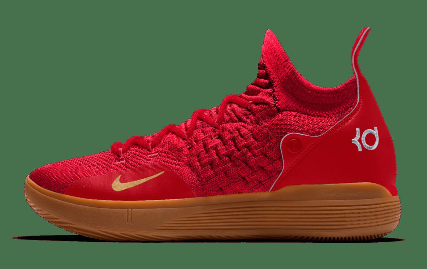 Nike KD 11 iD 'Red/Gum'