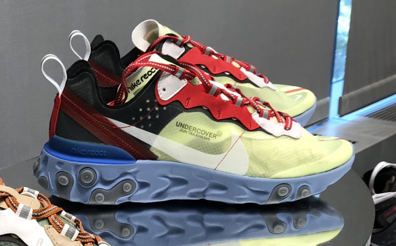d017b36a3998 Undercover x Nike React Element 87 New Images