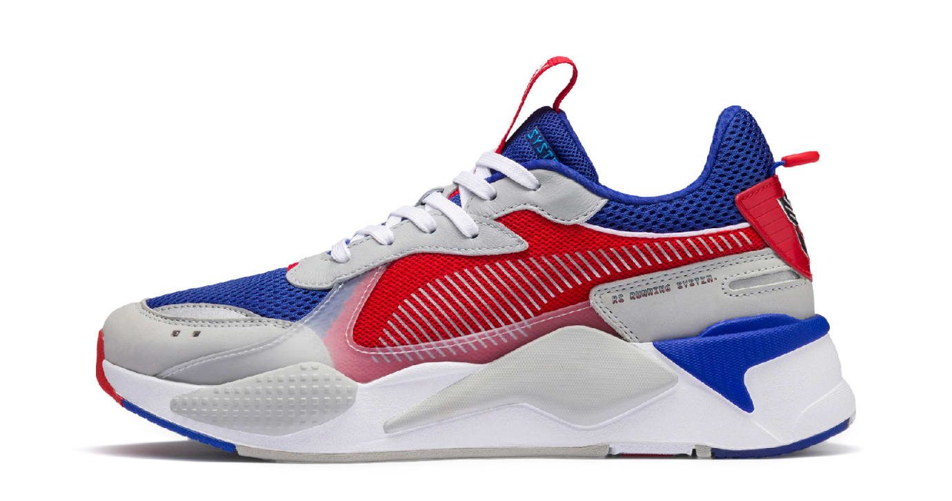 Hasbro x Puma RS-X Transformers 'Optimus Prime' (Lateral)