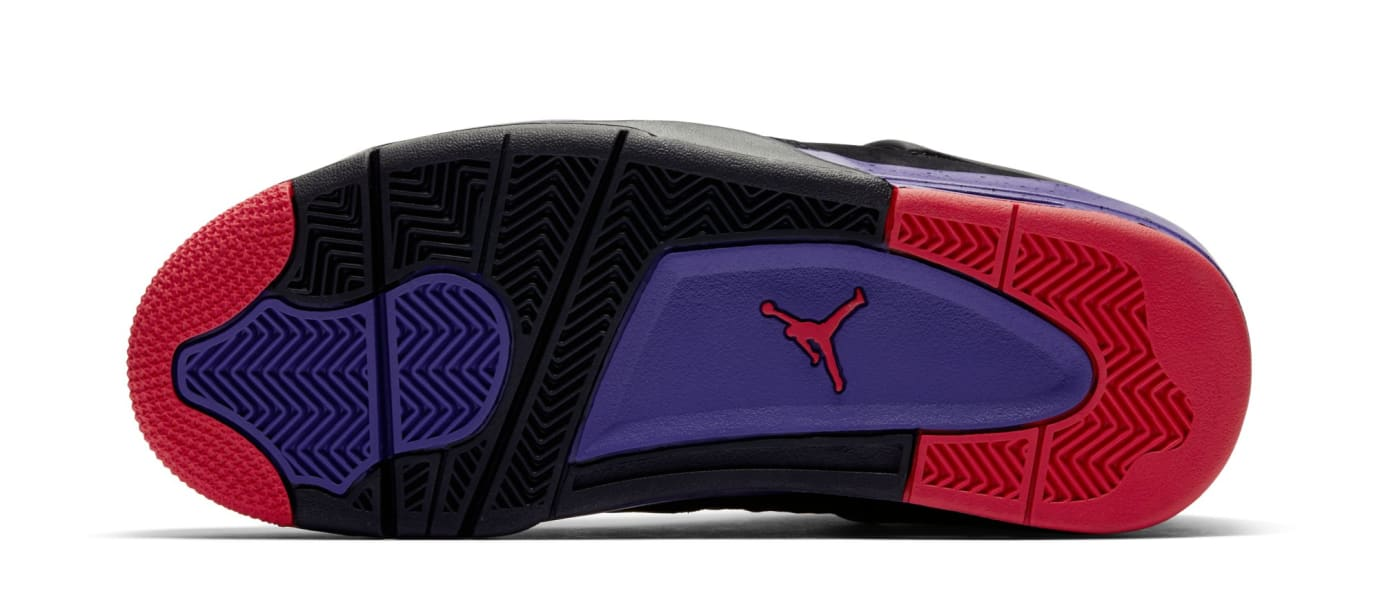 timeless design 8e743 ab411 Image via Nike Air Jordan 4  Raptors  AQ3816-065 (Sole)