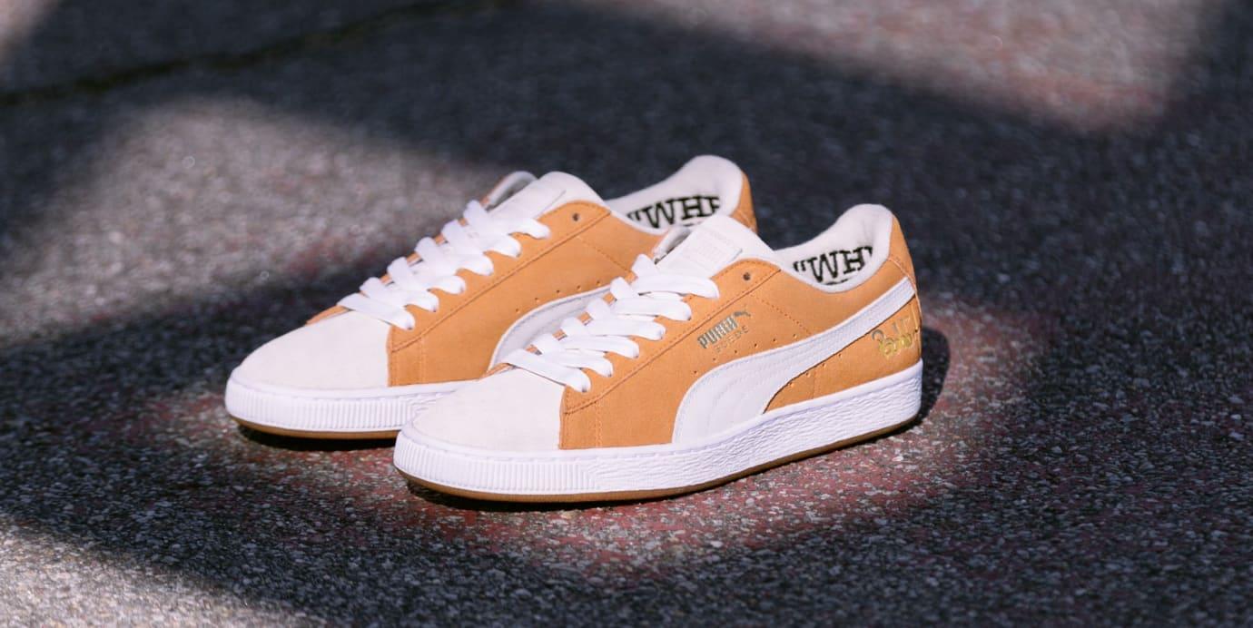 Bobbito x Puma Suede 50 (Orange/White)