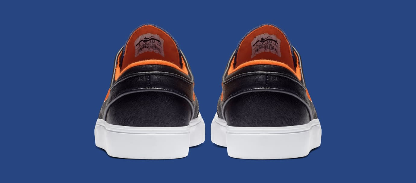 NBA x Nike SB Stefan Janoski 'Knicks' BQ6397-024 (Heel)