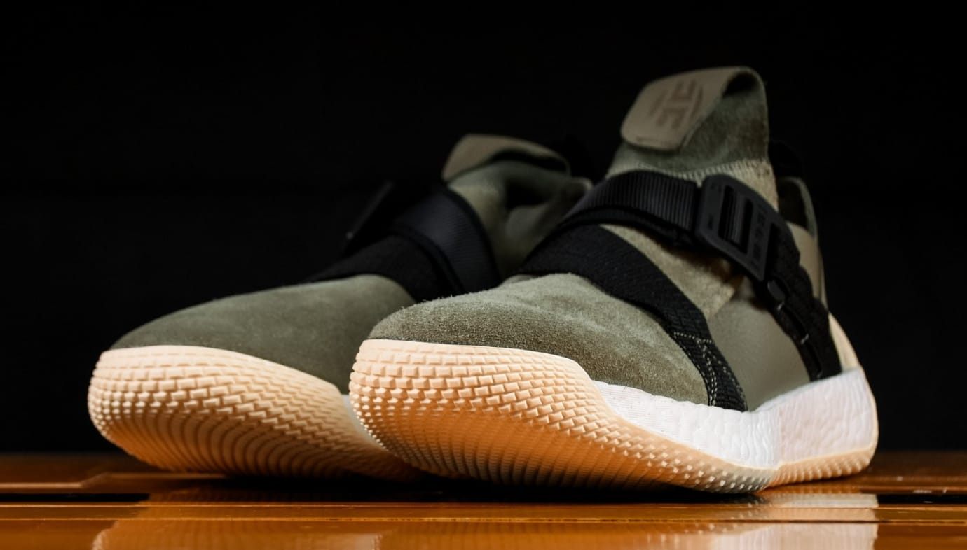 Adidas Harden LS 2 Buckle Olive Release Date AQ0020   Sole