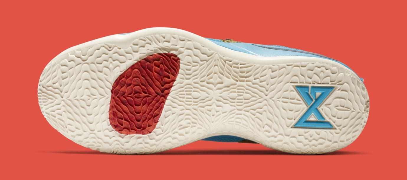 Nike PG 2.5 'Pendleton' Multi-Color/College Navy CI0294-900 (Bottom)