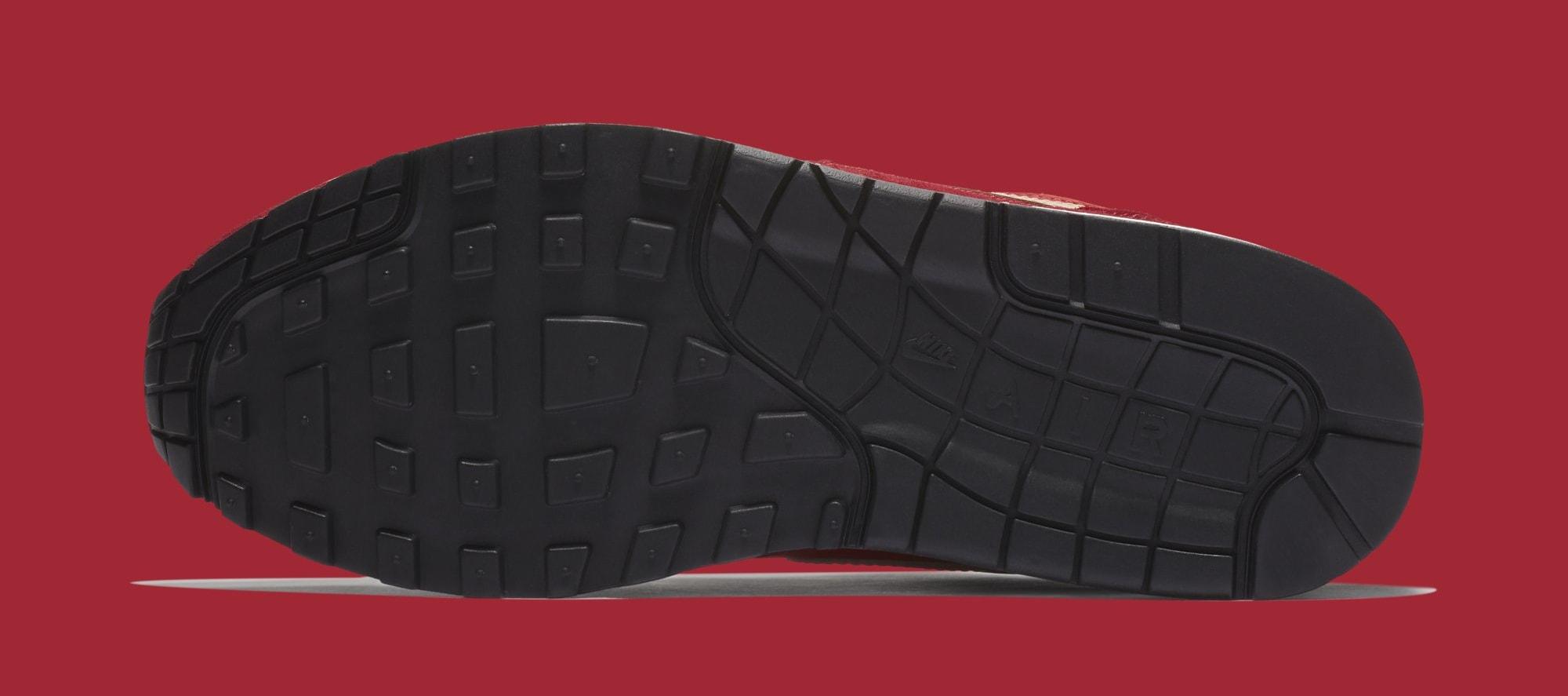 Atmos x Nike Air Max 1 'Red Curry' 908366-600 (Bottom)