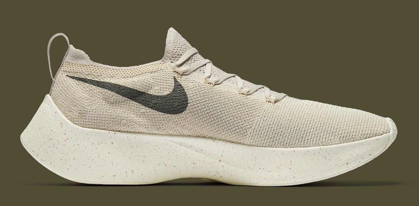 01b4baf5d70132 Image via Nike Nike Vapor Street Flyknit  Khaki  AQ1763-200 (Medial)