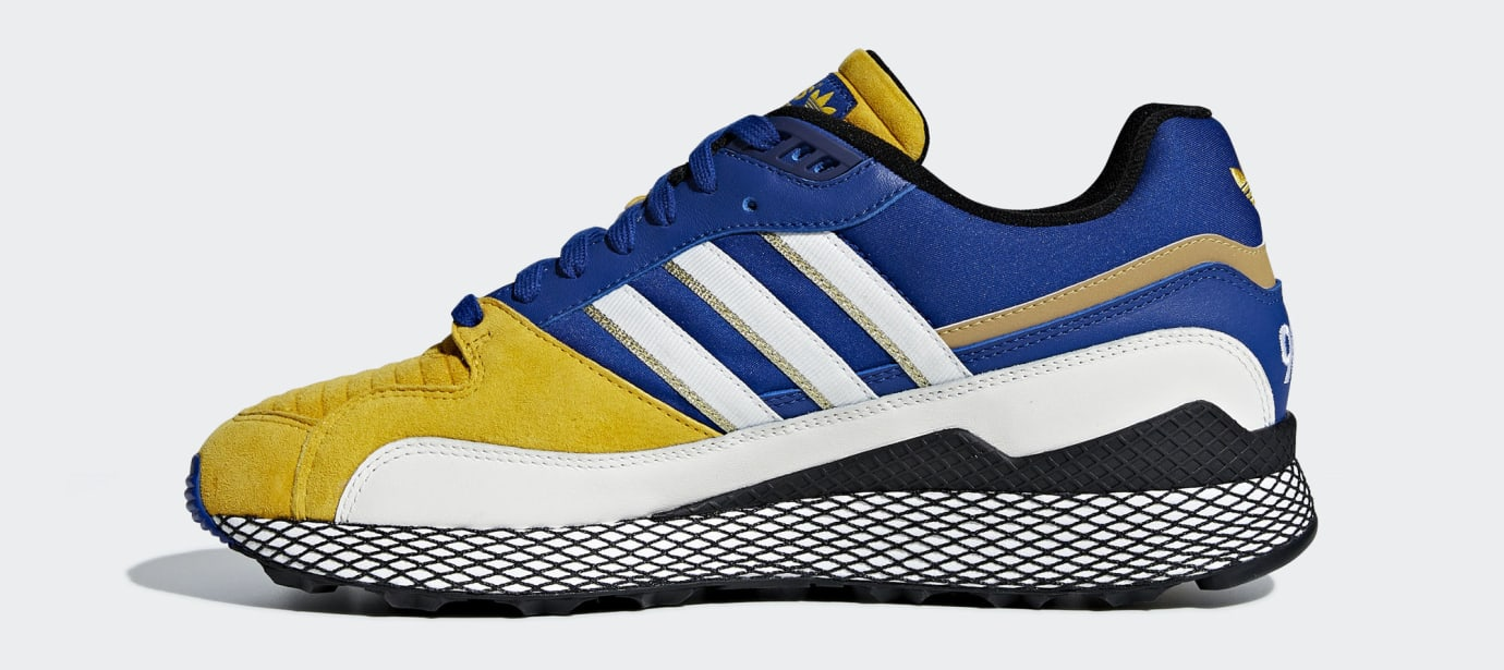ec3f7268bb9c3e Dragon Ball Z x Adidas Ultra Tech  Vegeta  D97054 Release Date ...