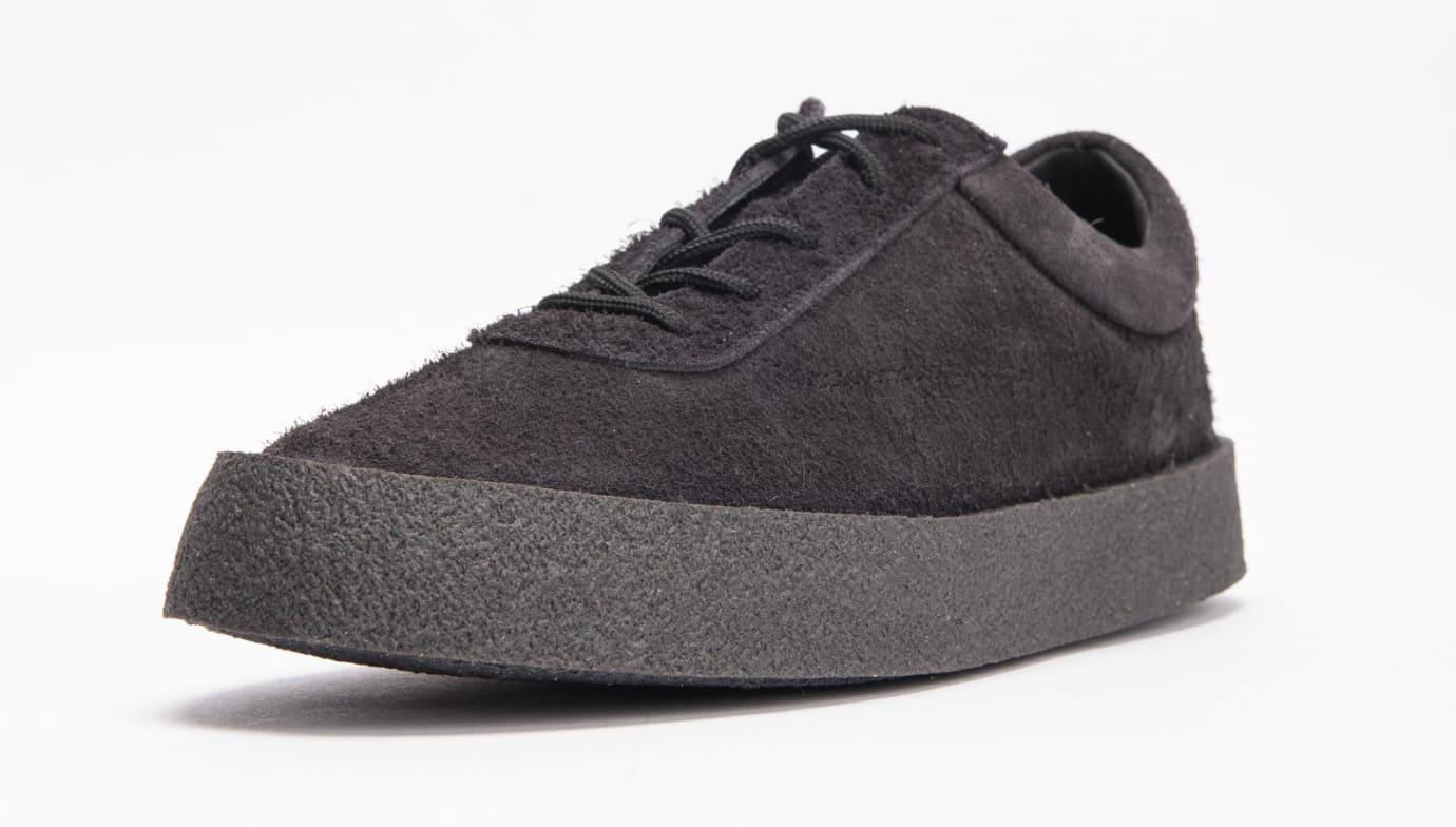 Yeezy Season 6 Crepe Sneaker Thick Shaggy Suede 'Black' KM5001-039 2