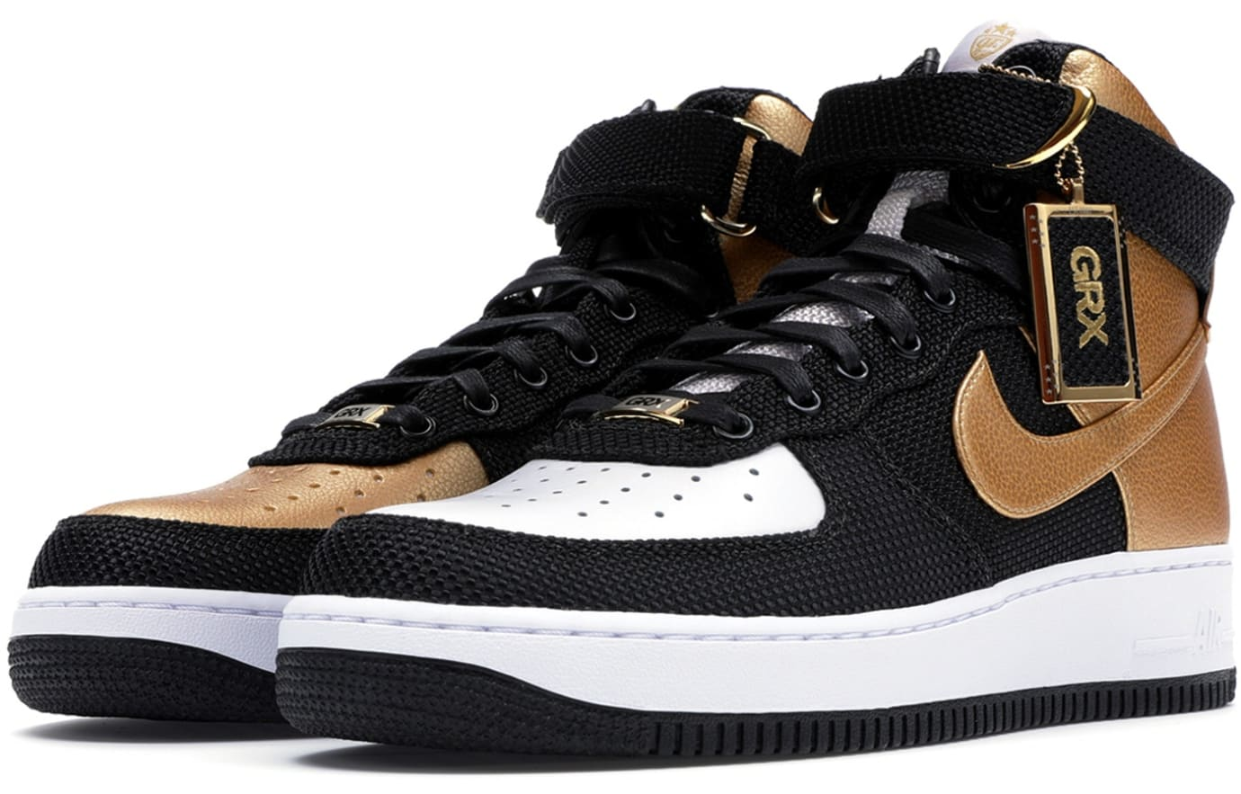 goldRush Rally x Nike Air Force 1 Bespoke (Pair)