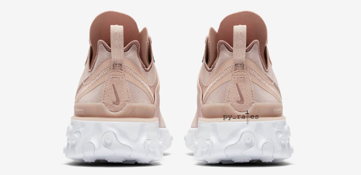 WMNS Nike React Element 55 'Particle Beige' (Heel)