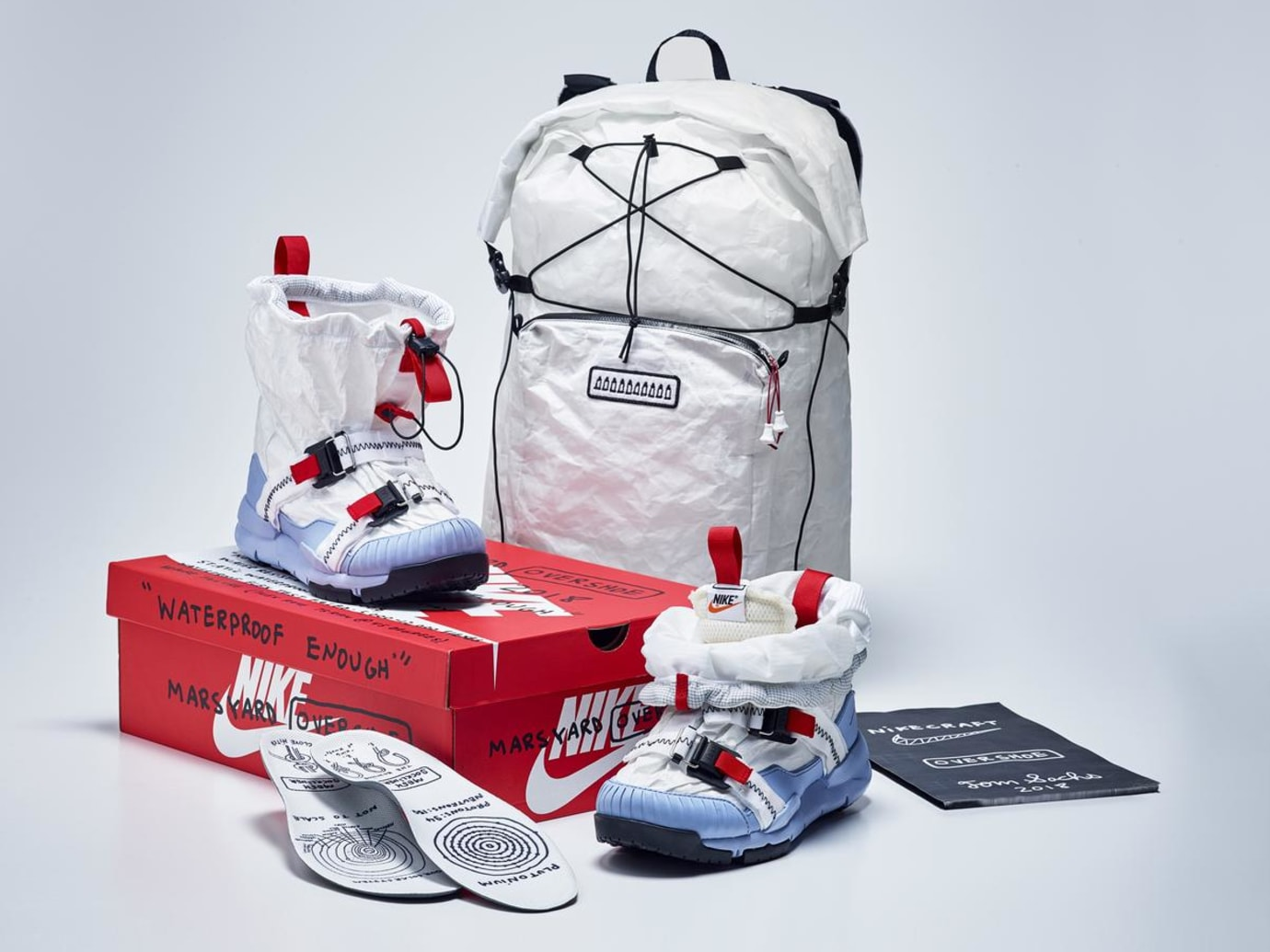 Tom Sachs x Nike Mars Yard Overshoe Backpack