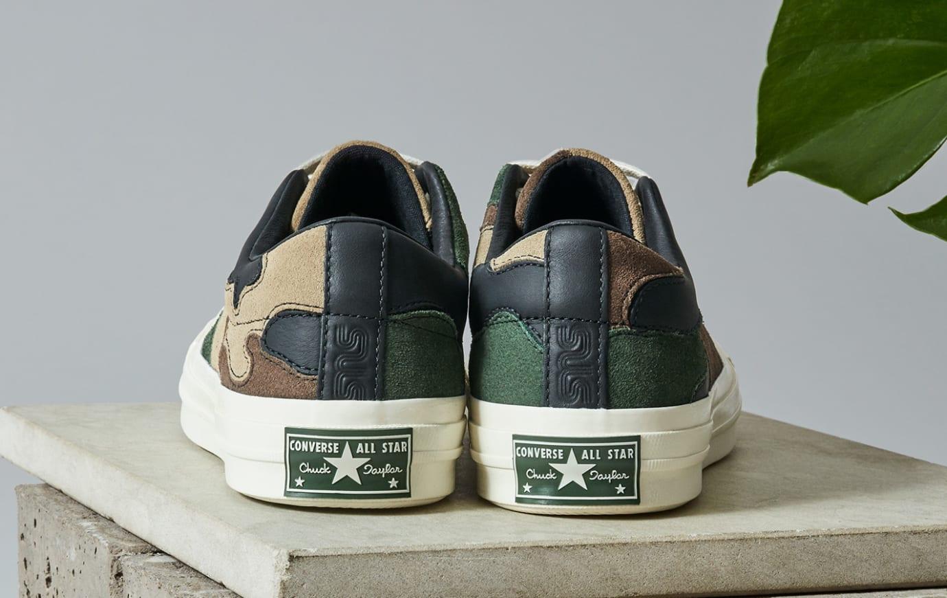 8f3b6c5867d89 Image via SneakersNStuff Sneakersnstuff x Converse One Star 'Canteen' (Heel)