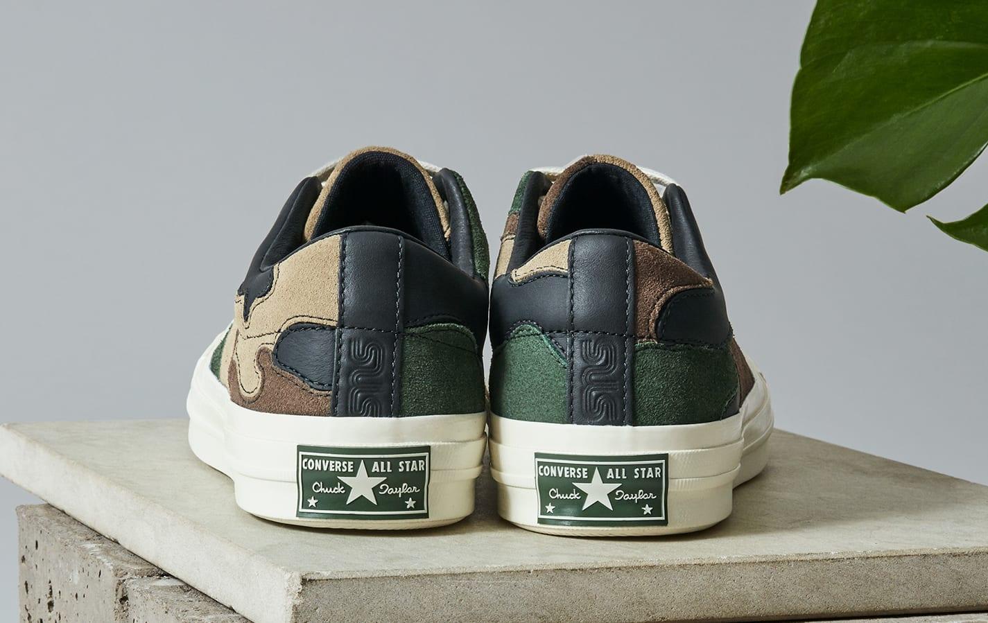 Sneakersnstuff x Converse One Star 'Canteen' (Heel)