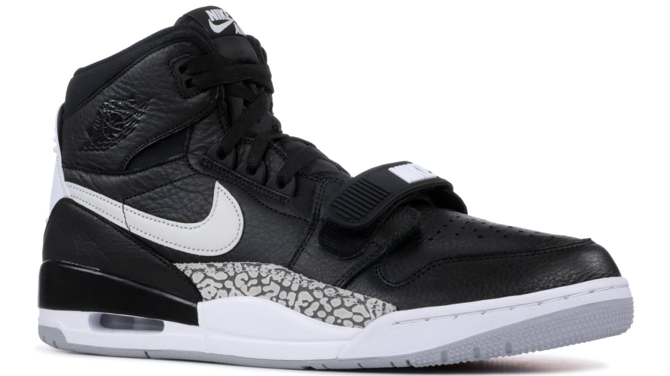 detailed images incredible prices wholesale sales Jordan Legacy 312 Black Cement Release Date | Sole Collector