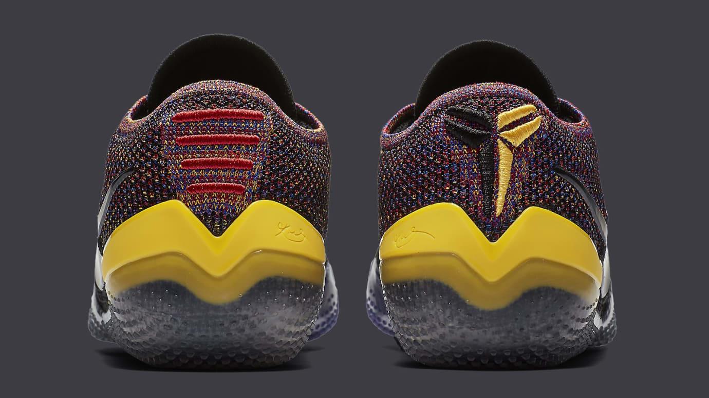 020d8ce0e47 Image via Nike Nike Kobe A.D. NXT 360 Black Multicolor Release Date AQ1087- 002 Heel