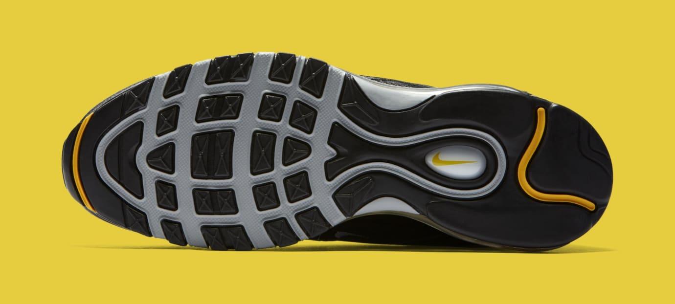 Nike Air Max 97 Black/White/Amarillo 921826-008 (Bottom)