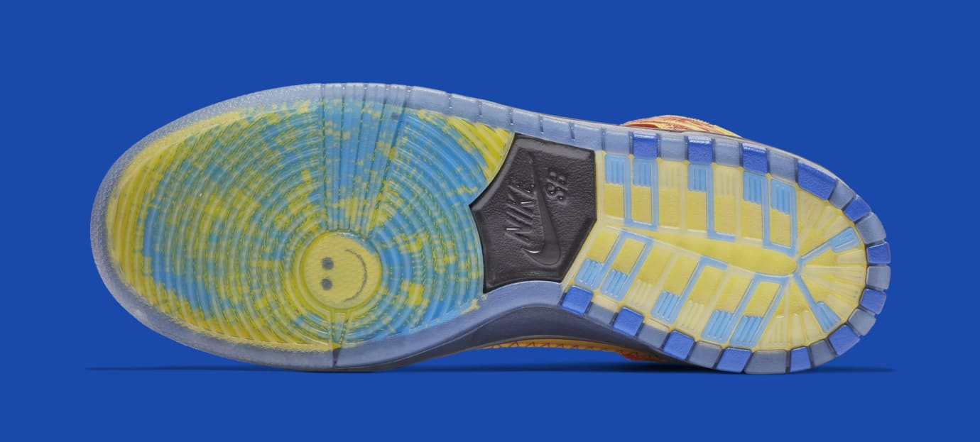 8b2ff215bb59b Image via Nike Nike SB Dunk High  Doernbecher  Vivid Sulfur Game Royal  579603-740 (
