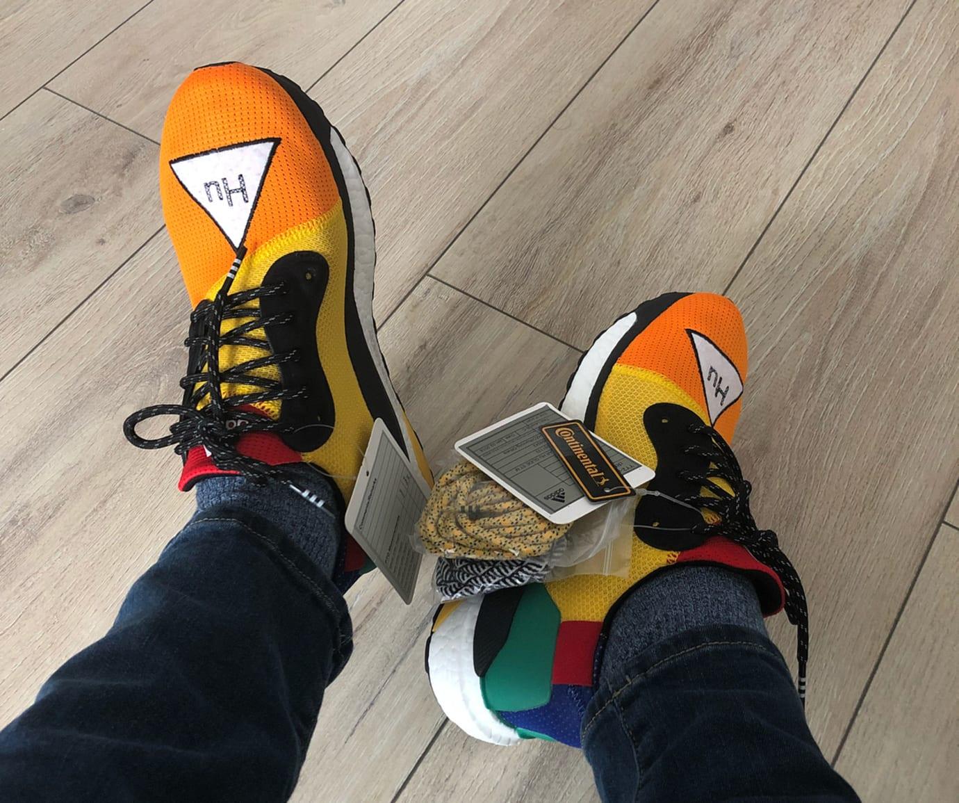 4cb2c7dc9e77a Pharrell x Adidas Solar Glide Hu ST Release Date (4)