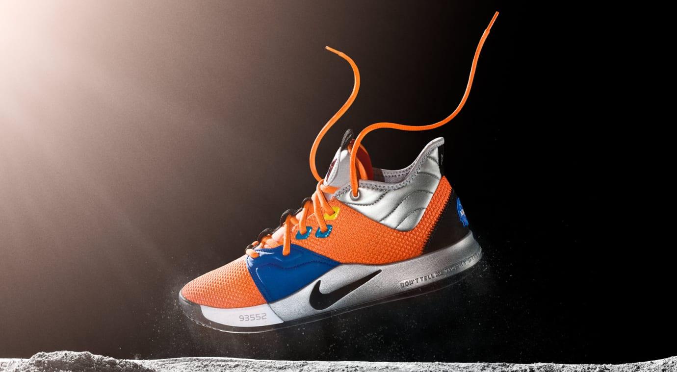 Nike PG 3 NASA Release Date CI2666-800 Space
