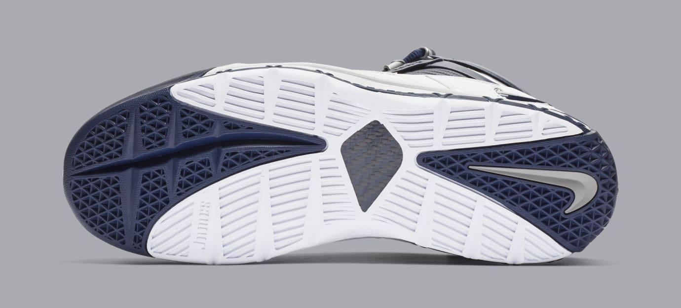 Nike Zoom LeBron 3 'White/Navy Blue/Silver' AO2434-103 (Bottom)