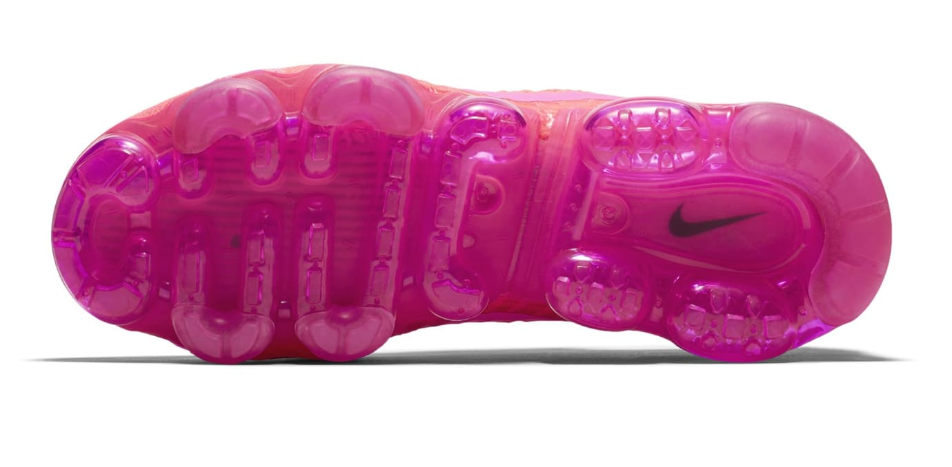 Nike Air Vapormax WMNS Bright Crimson/Hot Pink (Bottom)