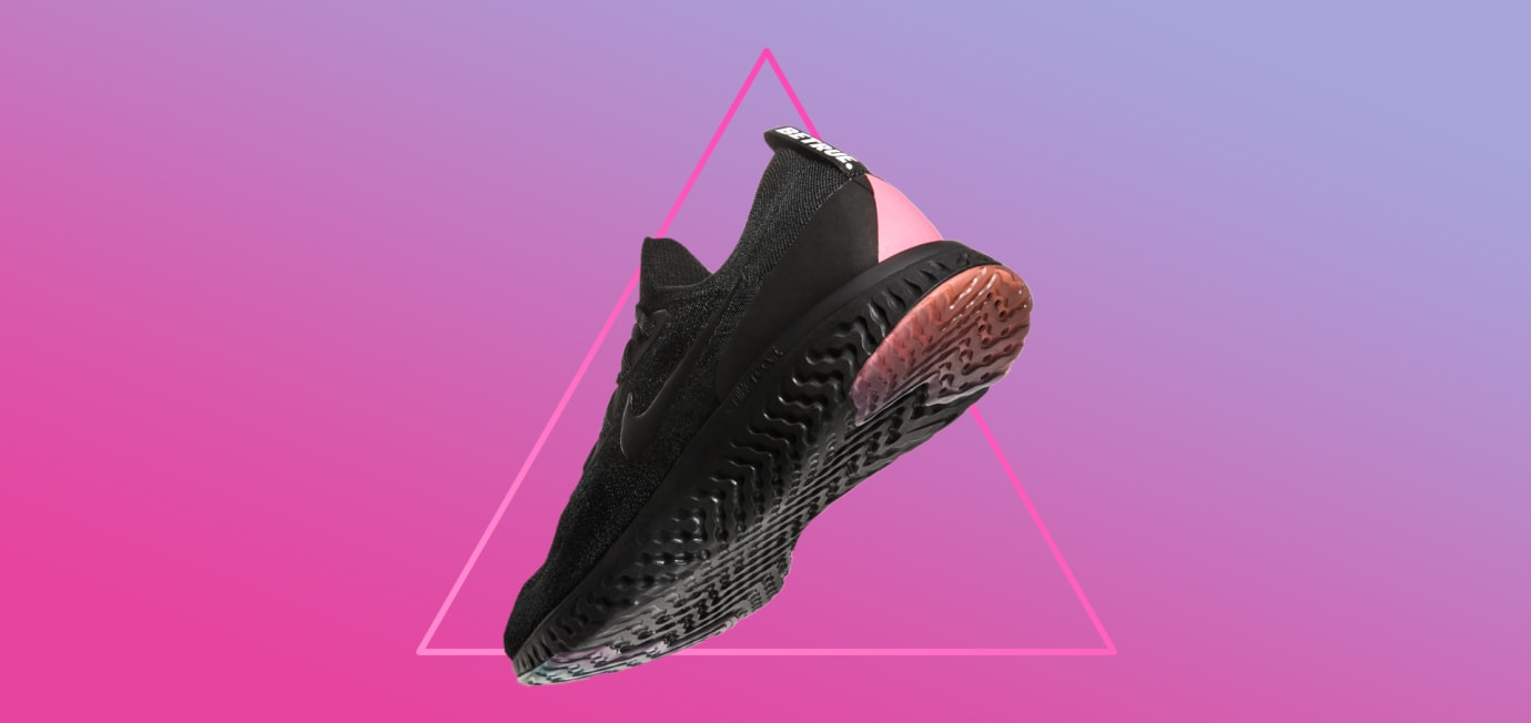 Nike Epic React Flyknit 'Be True' (Heel)