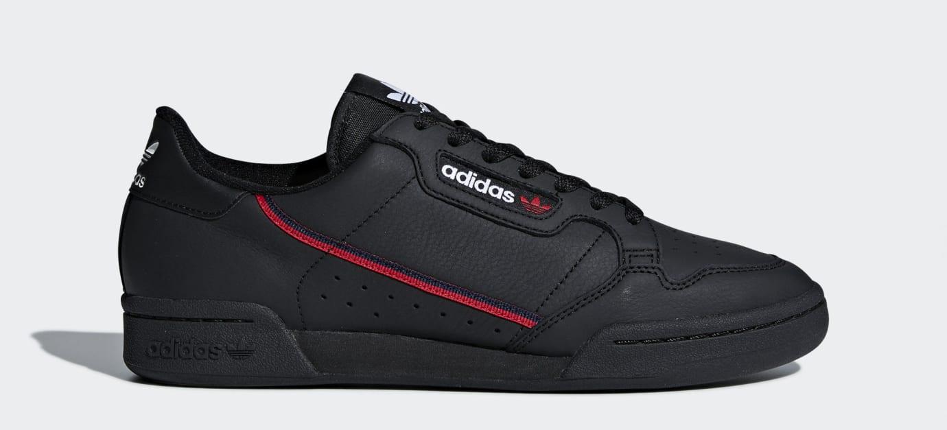 Adidas Continental 80 Rascal 'Black' B41672 (Lateral)