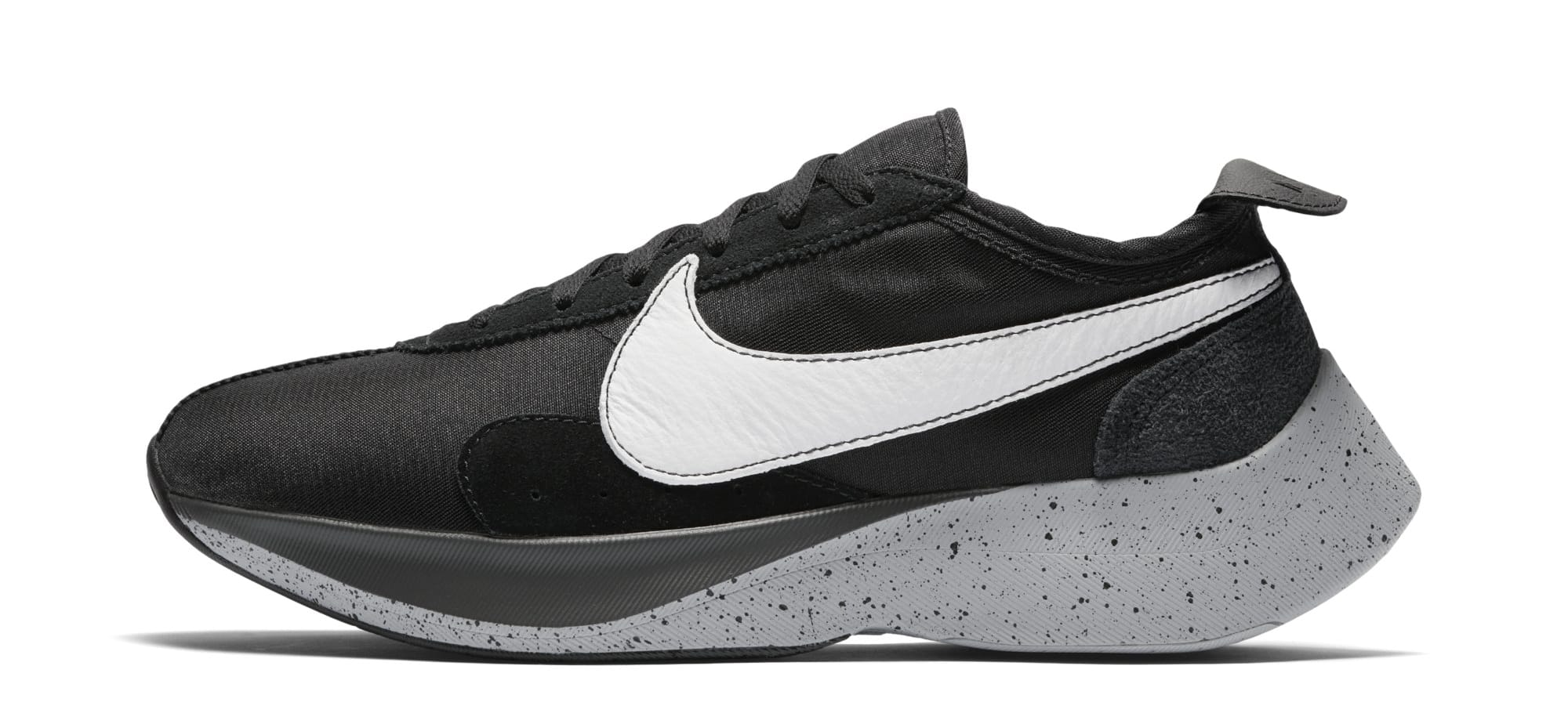 Nike Moon Racer 'Black/White/Wolf Grey' AQ4121-001 (Lateral)