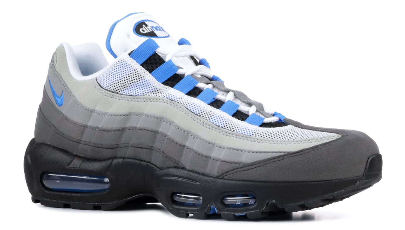 Nike Air Max 95 Crystal Blue At8696 100 Angle