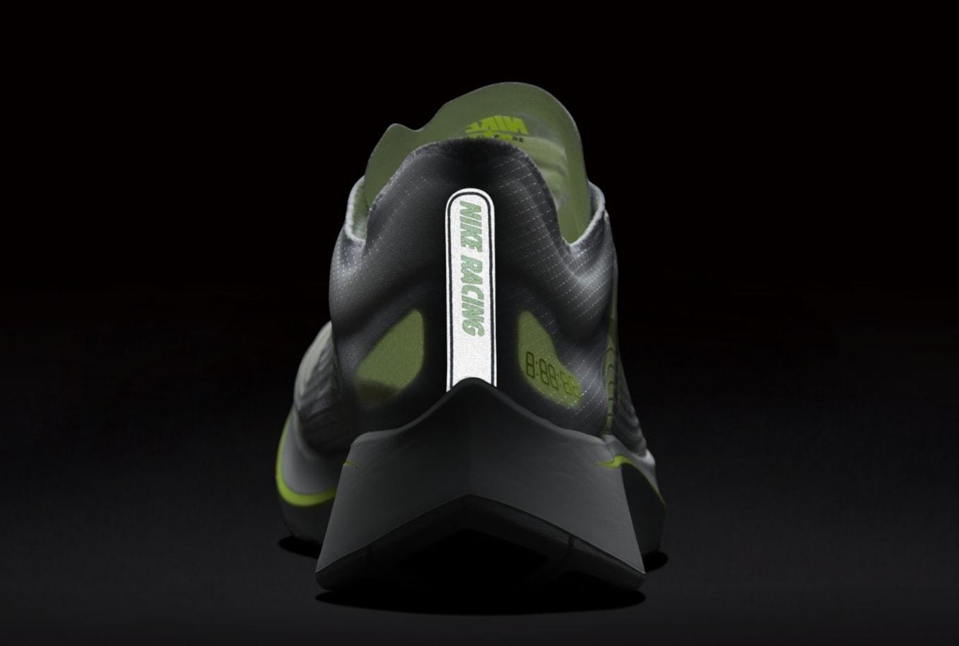 Nike Zoom Fly SP 'White/Volt/Glow' AJ9282-107 (Reflective)