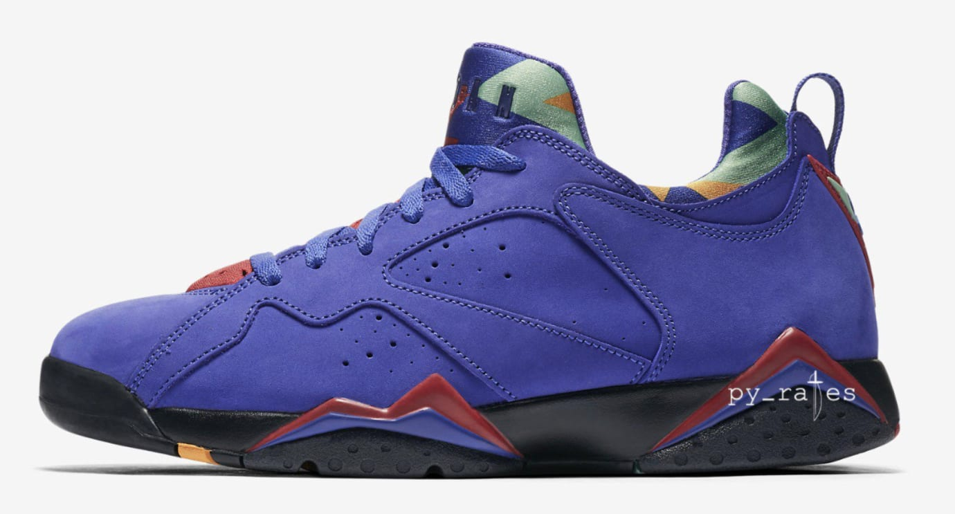 db149e7feab3 Air Jordan 7 Low NRG  Bordeaux   Bright Concord   Taxi  Release Date ...