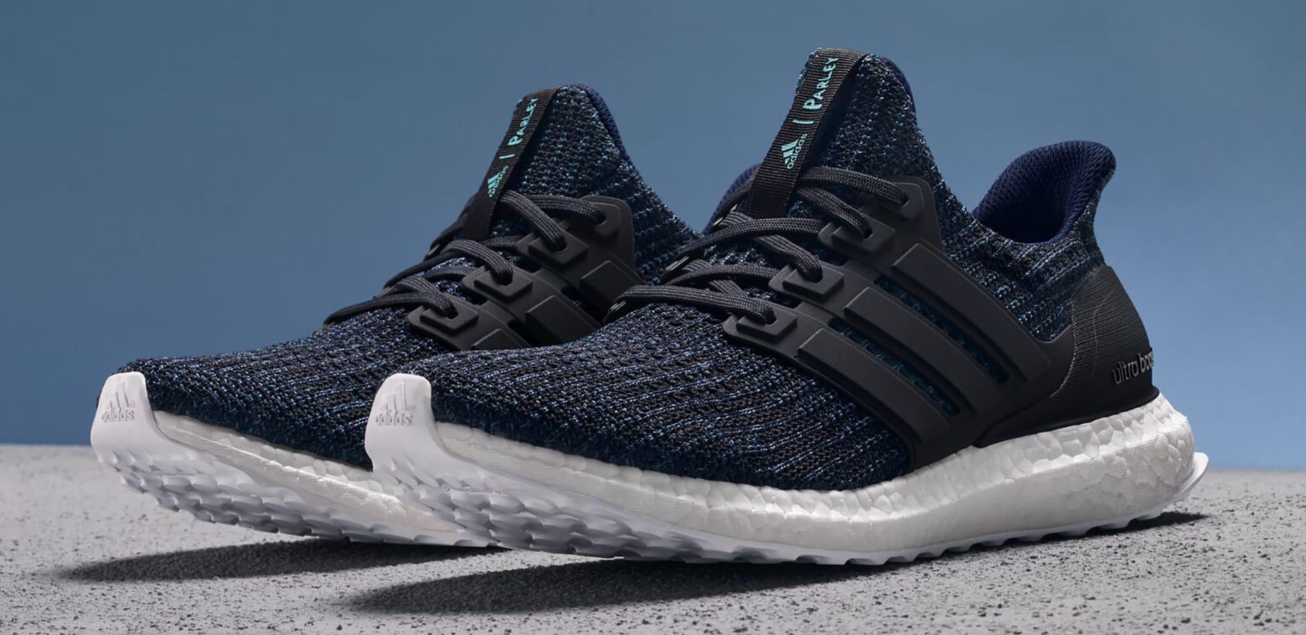Parley x Adidas Ultra Boost 'Deep Ocean Blue' Men's