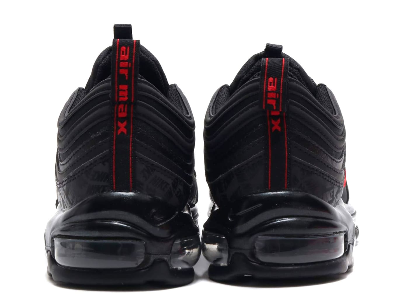 Nike Air Max 97 Black/University Red-Black AR4259-001 (Heel)