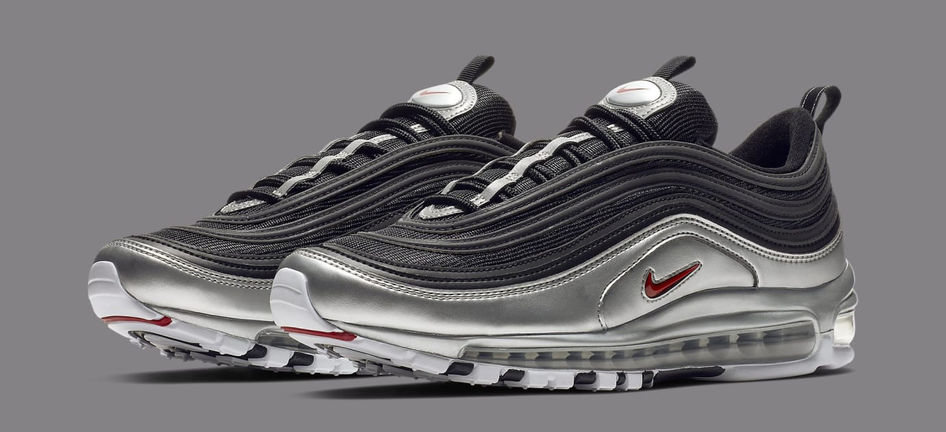 Nike Air Max 97 'Black/Metallic Silver' AT5458-001 (Pair)