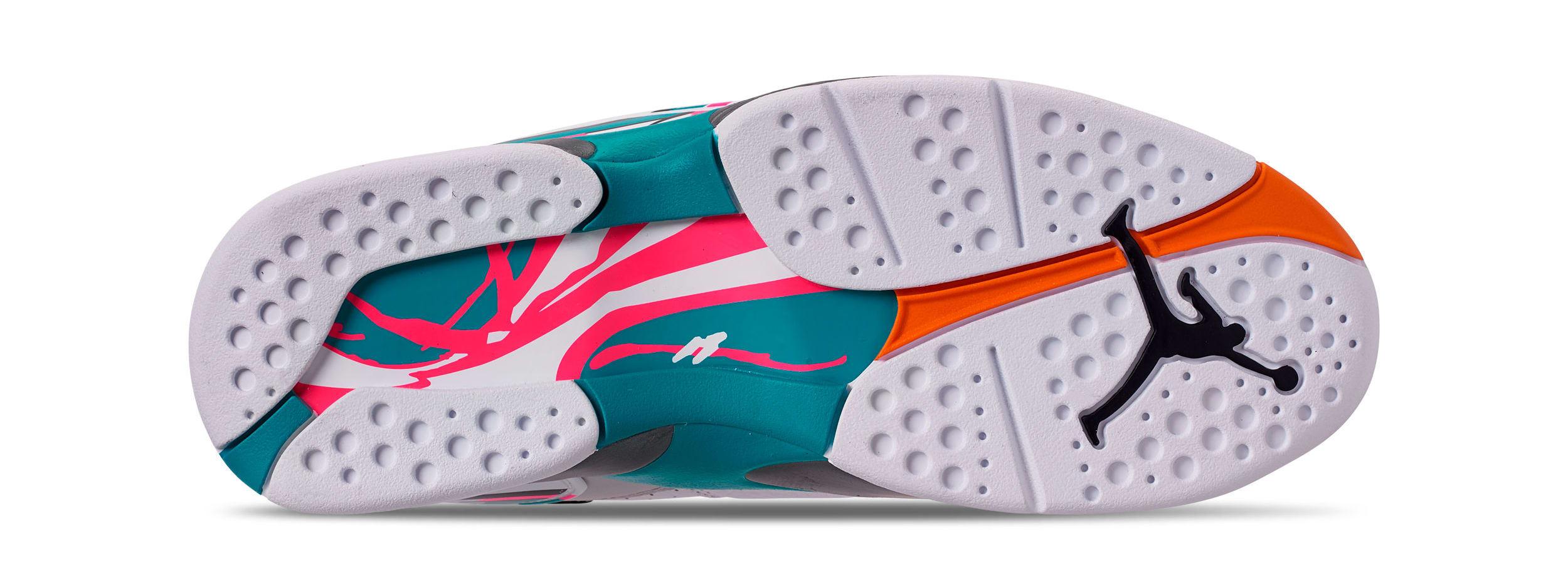 73bb6895fe844 Air Jordan 8 VIII South Beach Release Date 305381-113 | Premier Kicks