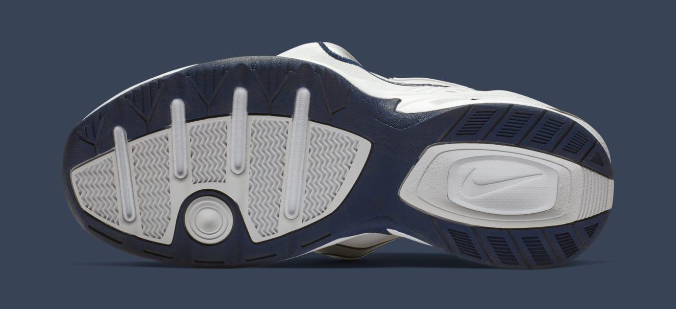 the latest 26ecf 6d08e Image via Nike Martine Rose x Nike Air Monarch 4  White  AT3147-100 (Bottom)