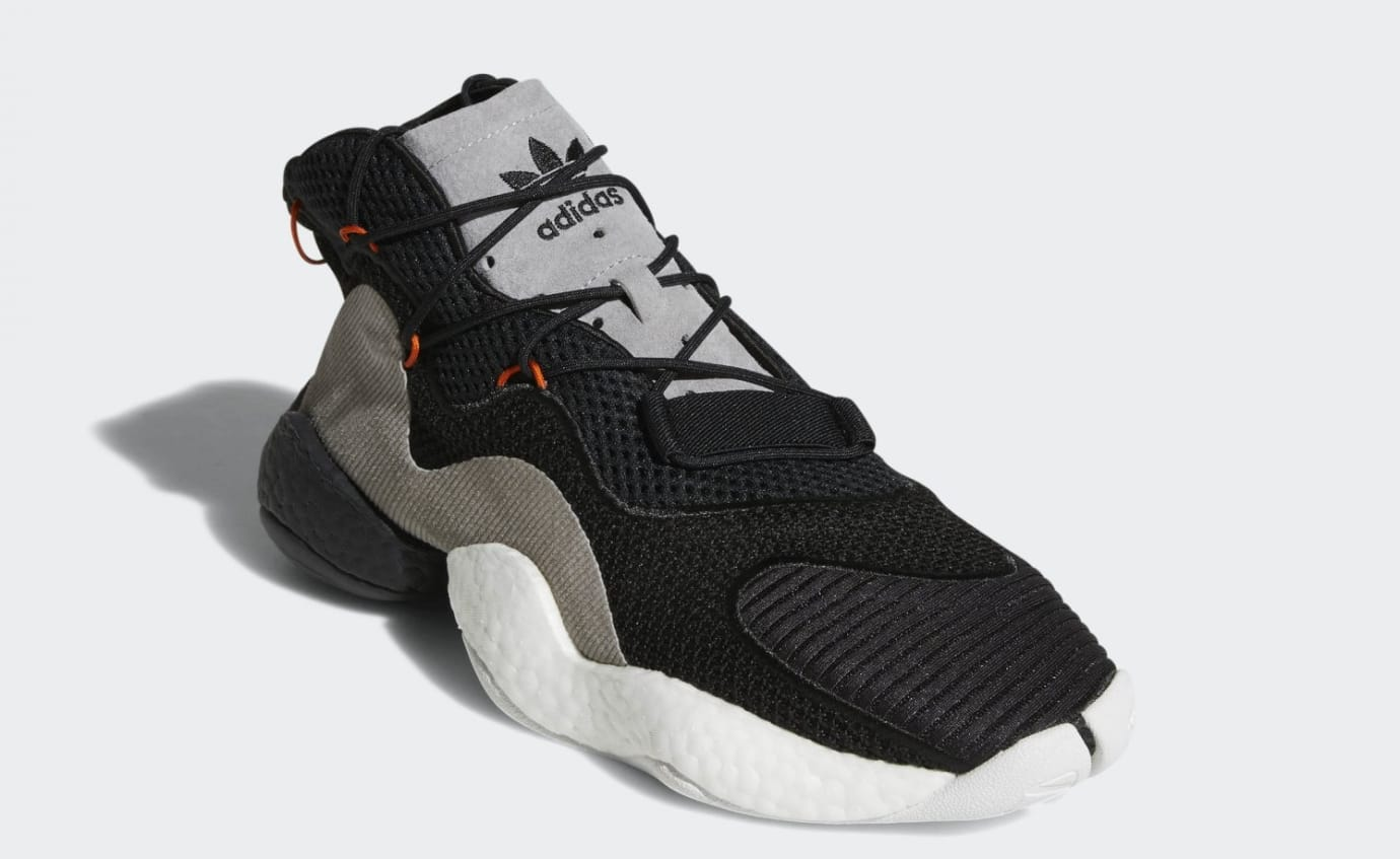 Adidas Crazy BYW 'Black/Orange/High Res Red' CQ0993 (Front)