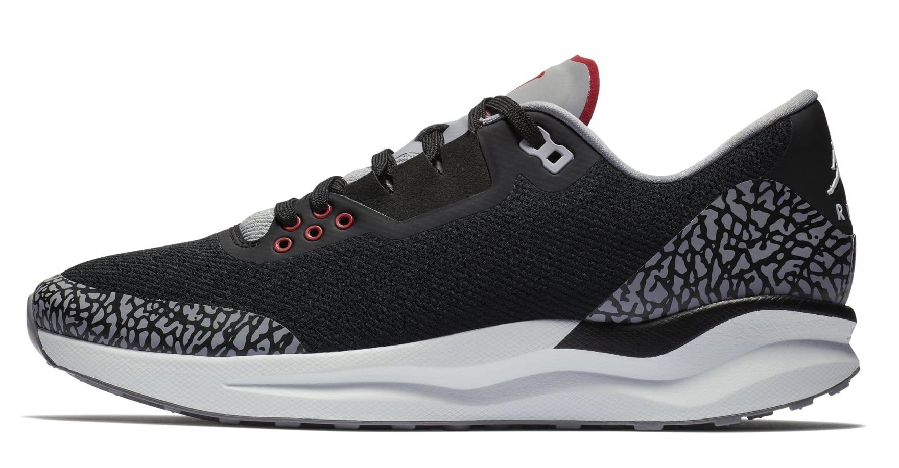 Jordan Zoom Tenacity 88 'Black/Cement' (Lateral)