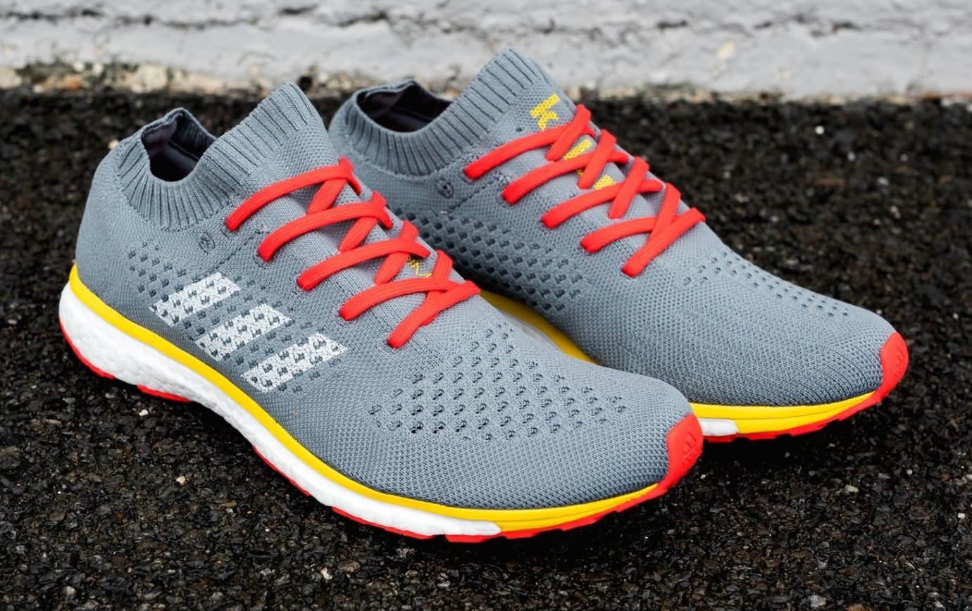 new york 1220c f92df Image via Packer Shoes Adidas by Kolor Adizero Prime GreyYellow (Pair)